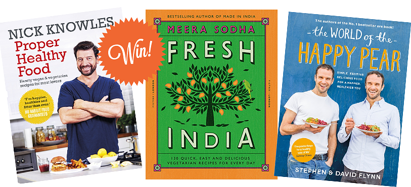 win vegetarian cookbooks