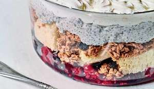 Nadiya Hussain's Yoghurt Breakfast Trifle Recipe | BBC Time to Eat