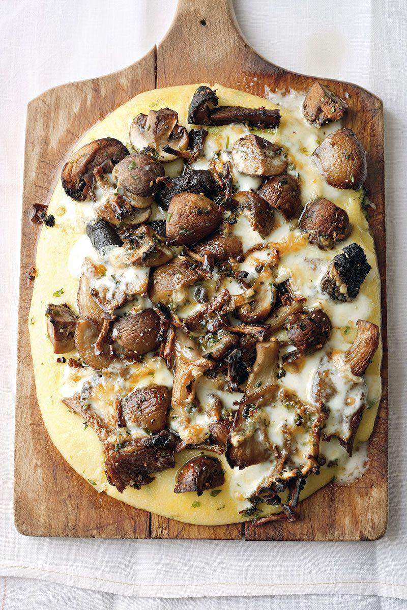 Yotam Ottolenghi's Mushroom and Herb Polenta best ottolenghi mushroom recipes plenty cookbook