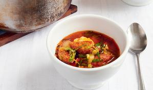Chorizo and Potato Stew, or Caldo Verde