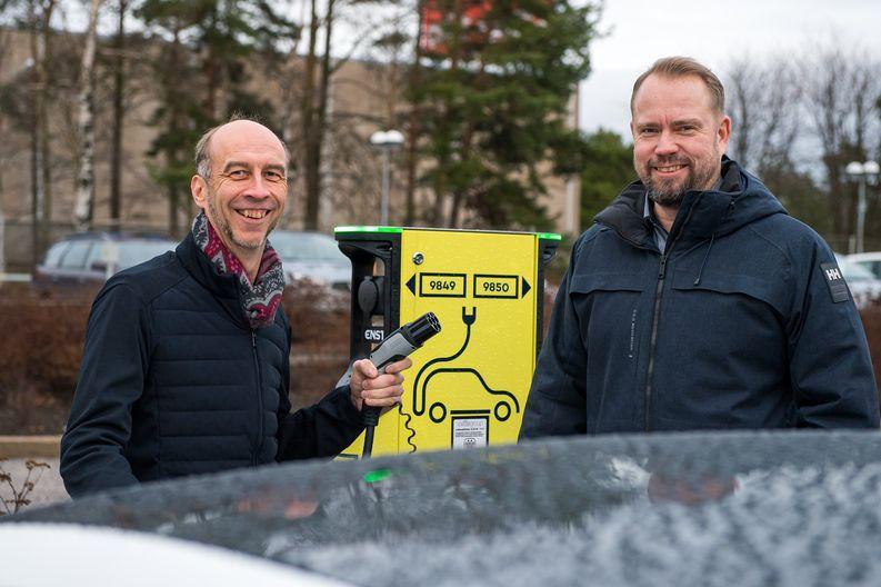 Oras Group, sähköautojen latauspisteet, Lännen Omavoima