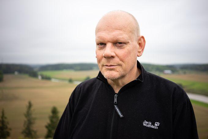 Museoviraston tutkija, yli-intendentti Petri Halinen