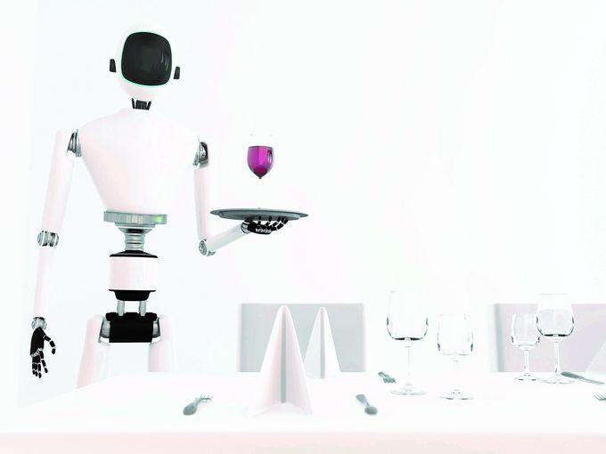 Robottitarjoilija, tulevaisuuden uusi työntekijä?
