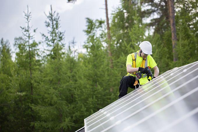 Aurinkopaneelit Rauma, Turku, Laitila, Uusikaupunki