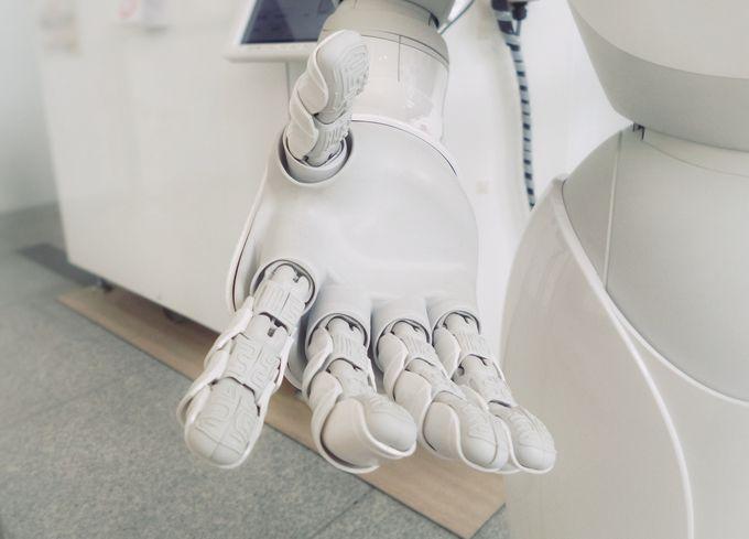Tulevaisuuden kodin palvelurobotti.