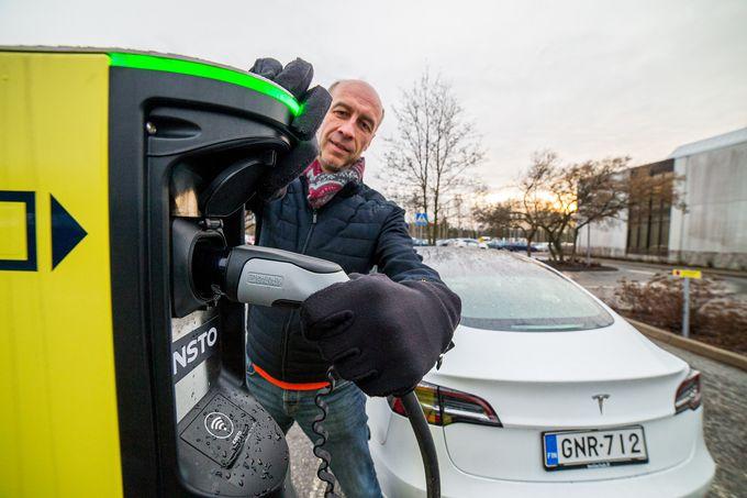 Oras Group, sähköauto, lataus
