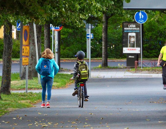 Pyöräily säästää energiaa