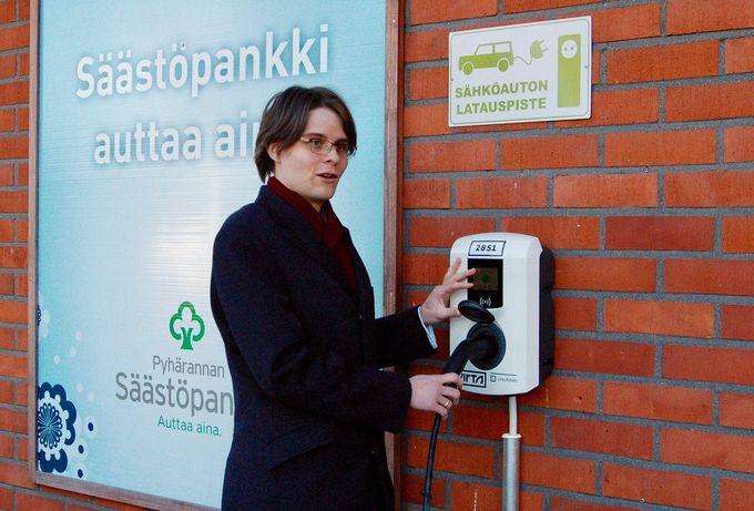 Ossi Öhman, Pyhärannan Säästöpankki