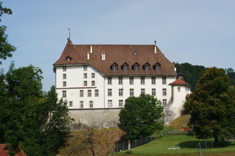 Aussenansicht Schloss Sumiswald