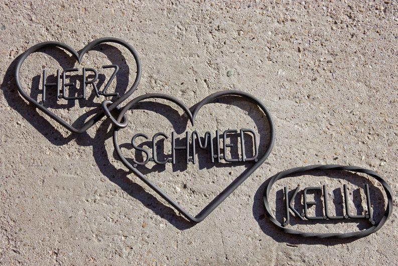 Geschmiedete Herzen
