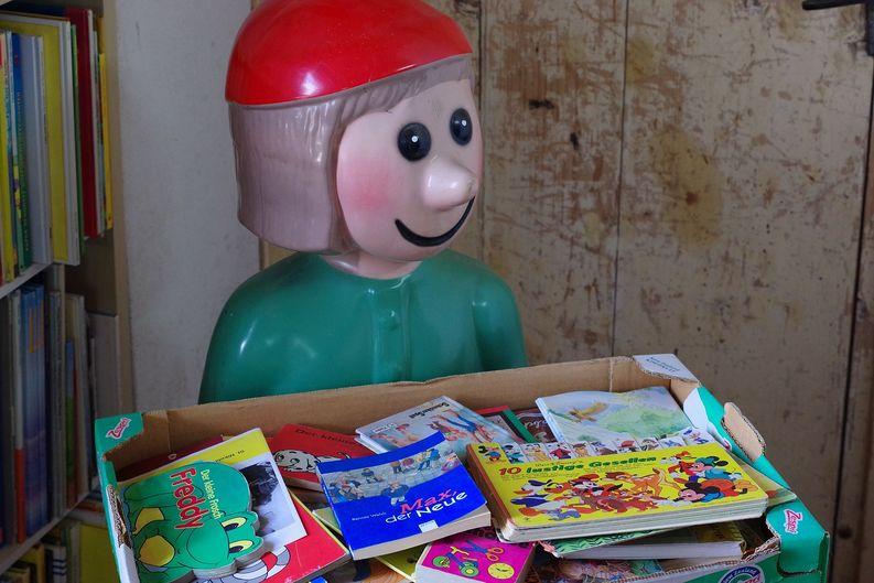 Kinderbuchabteilung in Büchermühle