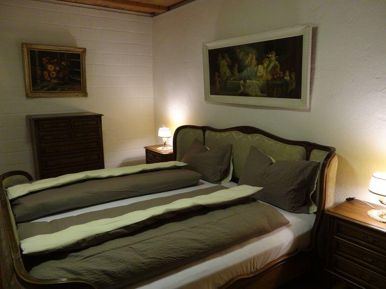 Doppelzimmer SchlafSchloss Sumiswald