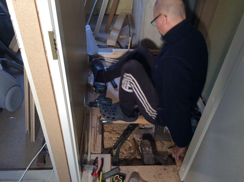 Perinnekorjaus Salminen wc remontti