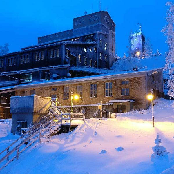 The old mine of Outokumpu #mine #snowy #winter #outokumpu #finland