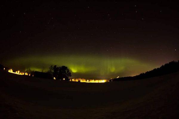 #28.2.2019 #revontulet #northernlights #auroraborealis #aurora #finland #naturephotography #liperi#fisheye