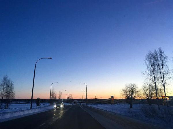 #huomenta #työmatka #liperi #aurinkonousee #sanomalehtikarjalainen #toimituspäällikkö