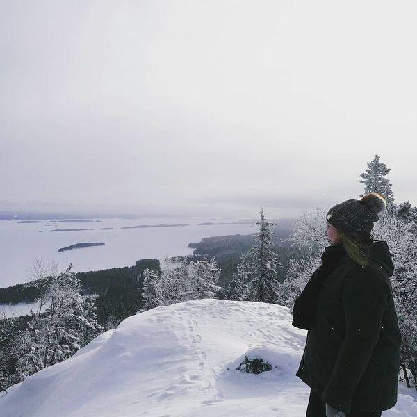 Nämä maisemat😍 #ukkokoli #koli #finland #winter