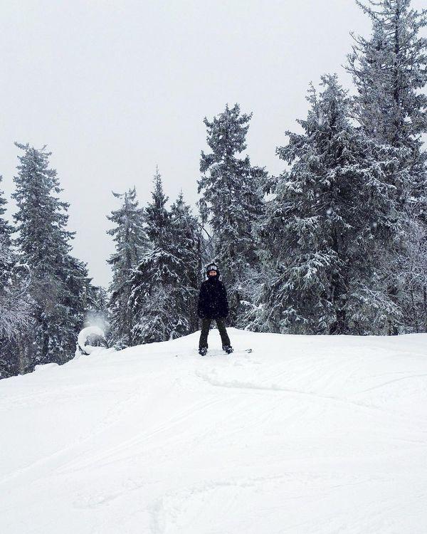 Neljä hyvää säätä asua Suomessa - tämä on yksi niistä! #talvi #winter #snowing #lumilautailu #snowboarding #ulkonaperillä #thisisfinland #visitfinland #ukkokoli #koli #koliski #finland