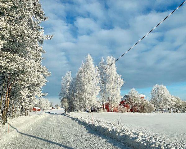 Home 🏡 #home #thisisfinland #winter #liperi #visitkarelia