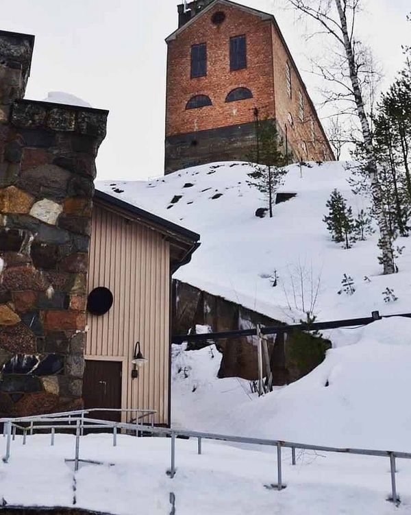 #suomi #finland #winter #talvi #north #landscape #travel #trip #vanhakaivos #kaivos #outokumpu #outokummunkaivos #polar #севернаяостроботния #север #northcity #pohjoispohjanmaa