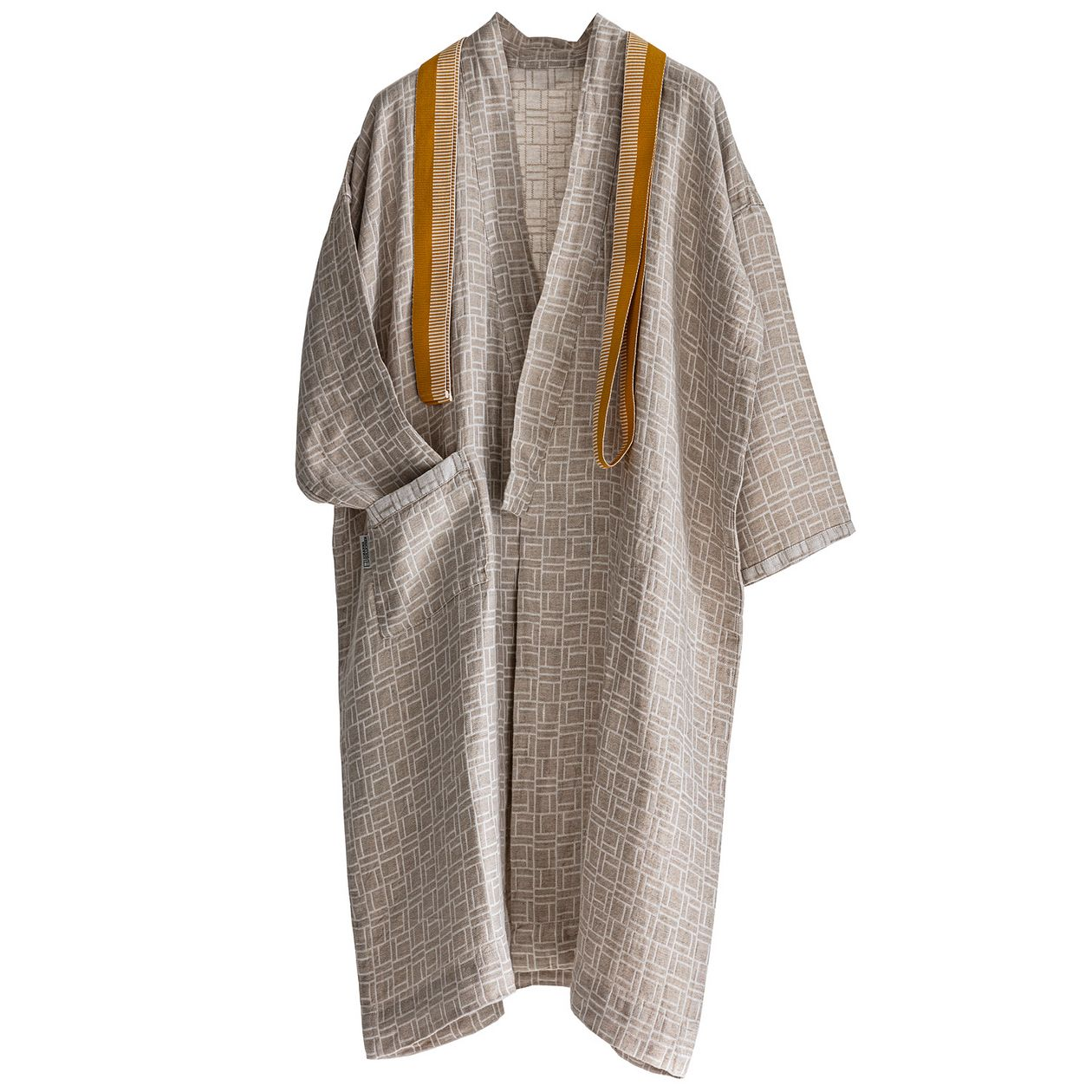 Johanna Gullichsen Pure bathrobe, medium flax