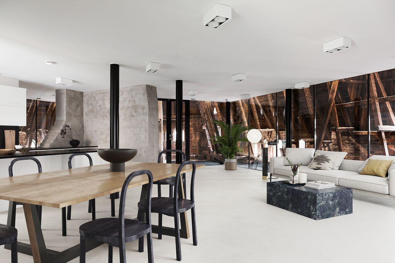 Attic apartment in Katajanokka