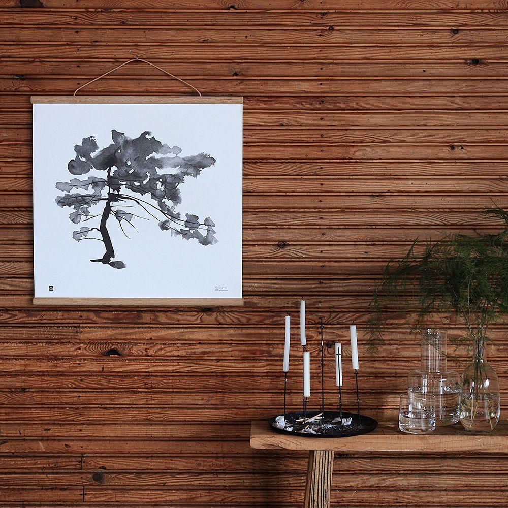 Teemu Järvi Illustrations Pine Tree poster