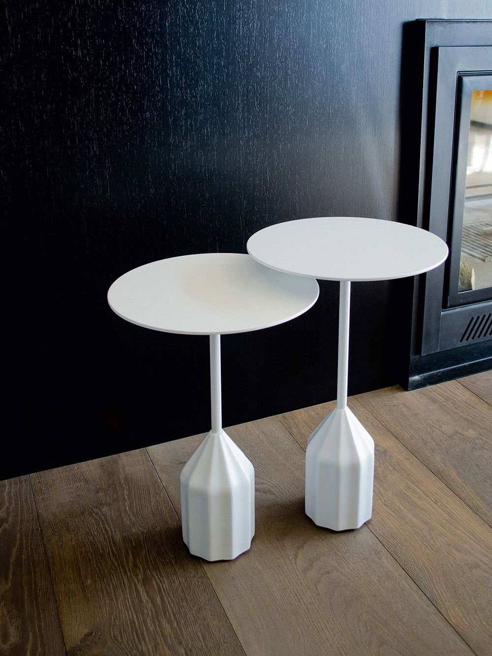 The Mini Burin side table from Viccarbe