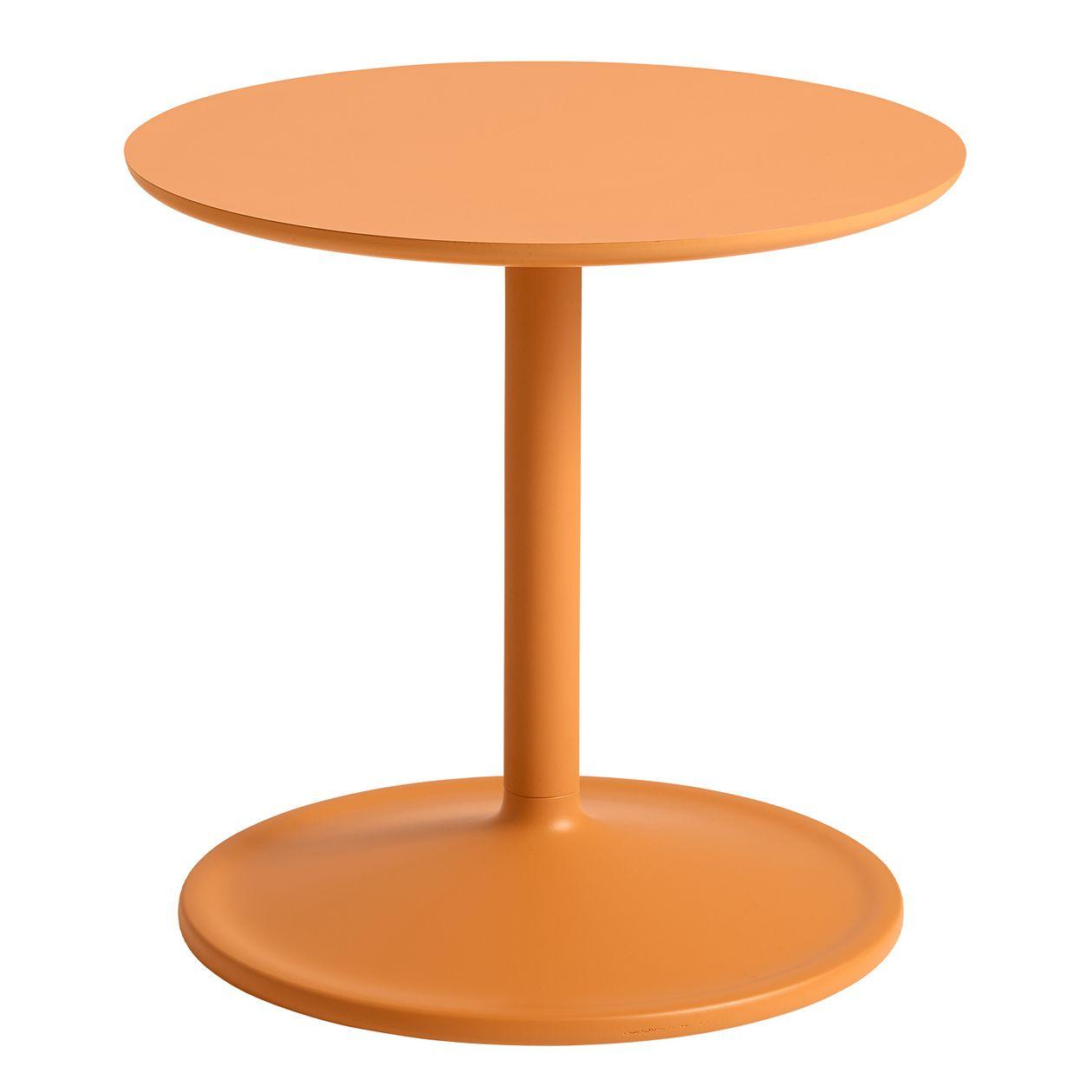 Muuto  Soft side table, 48 cm, orange