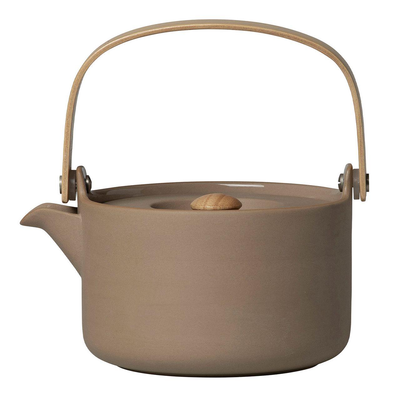 Marimekko Oiva teapot 0,7 L, terra