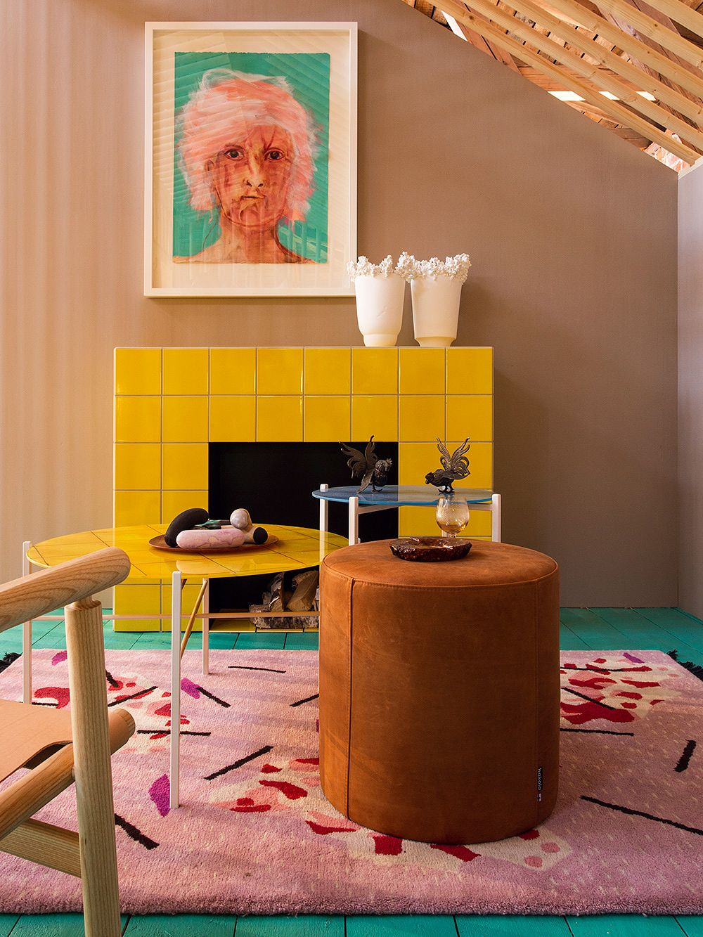 Fiskars Summer House – Fireplace Room