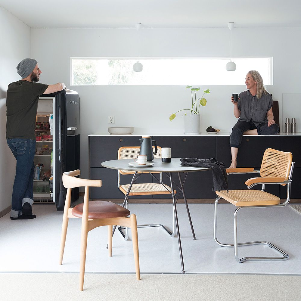 A renovated 1970s house in Norway