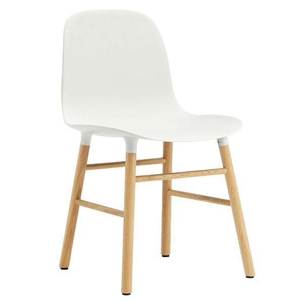 Normann Copenhagen Form chair, white - oak