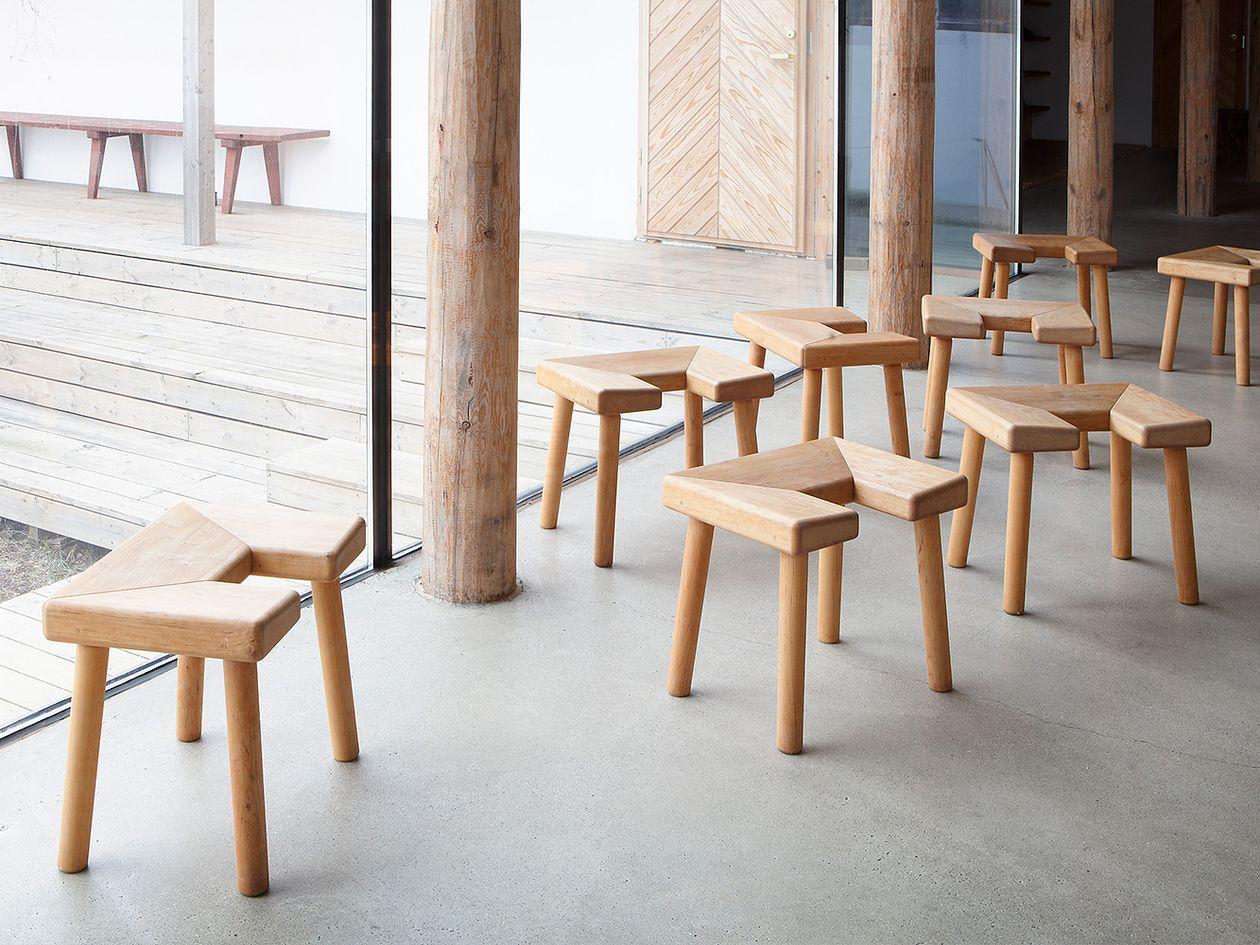 Nikari Arte Culture Sauna stools