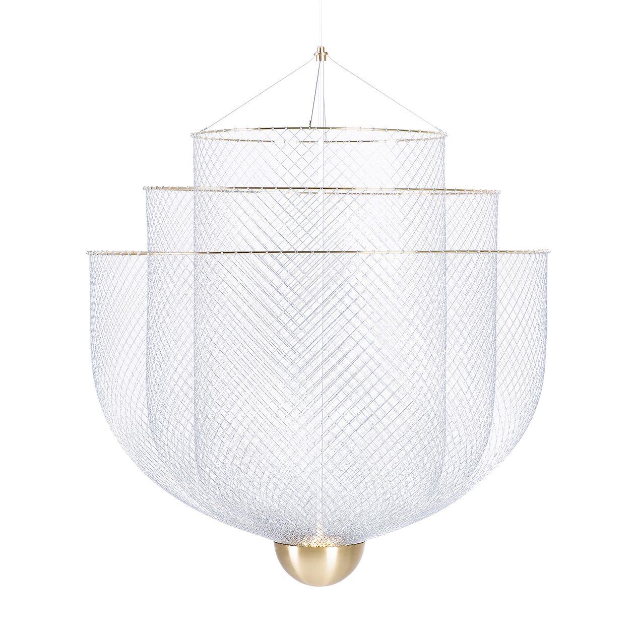 Moooi:Meshmatics chandelier