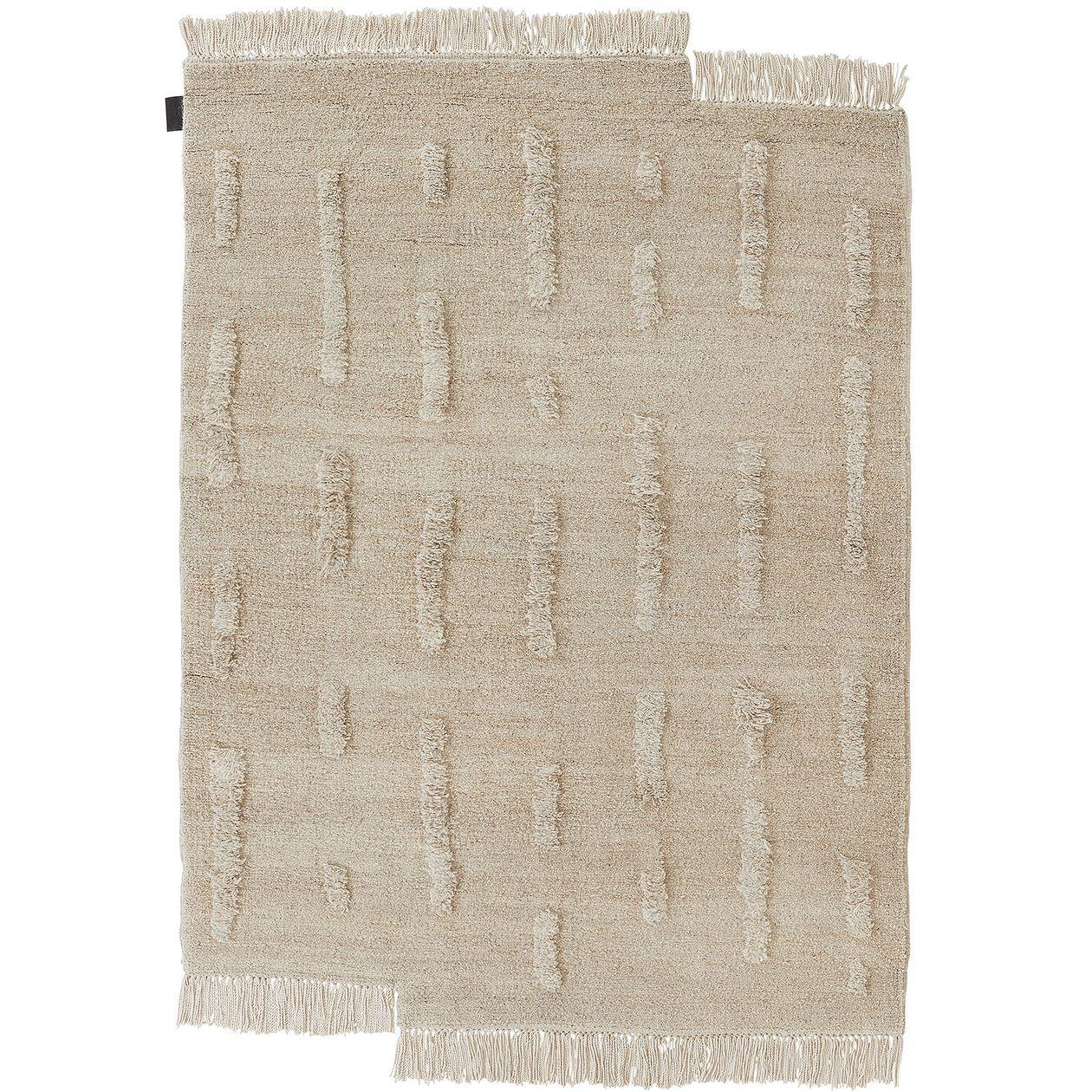 Sera Helsinki Laine rug woven, off white