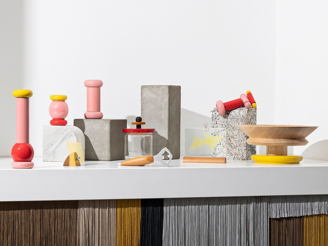 Ettore Sottsass designs