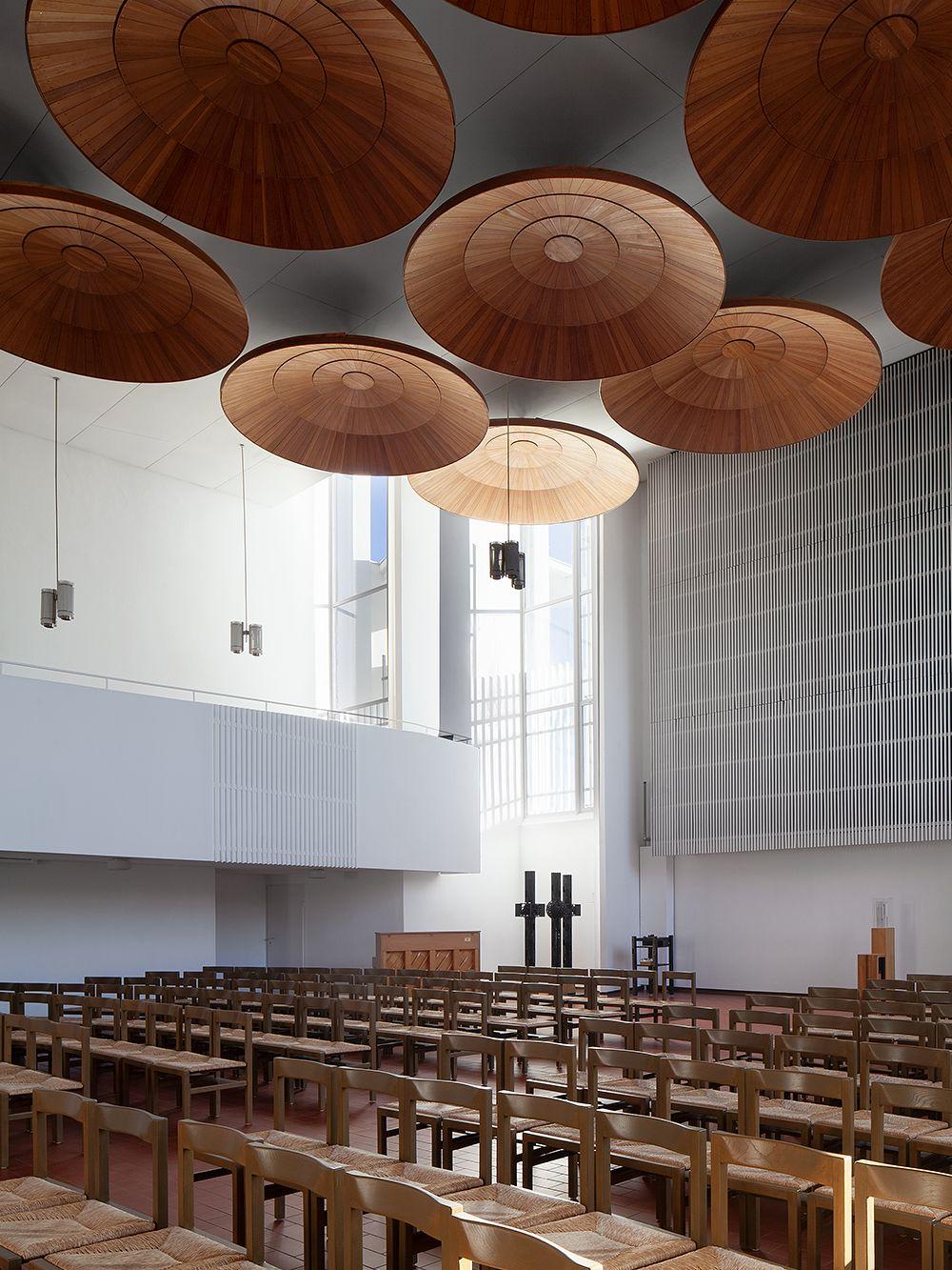 Alvar Aalto, Stephanuskirche, Wolfsburg