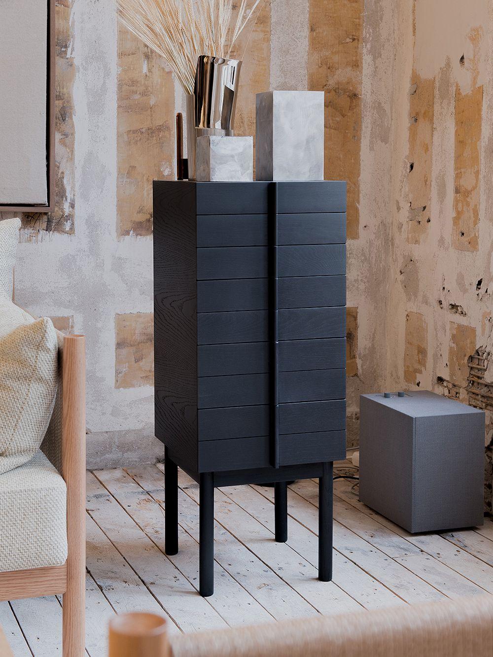 Ariake's Column chest of drawers