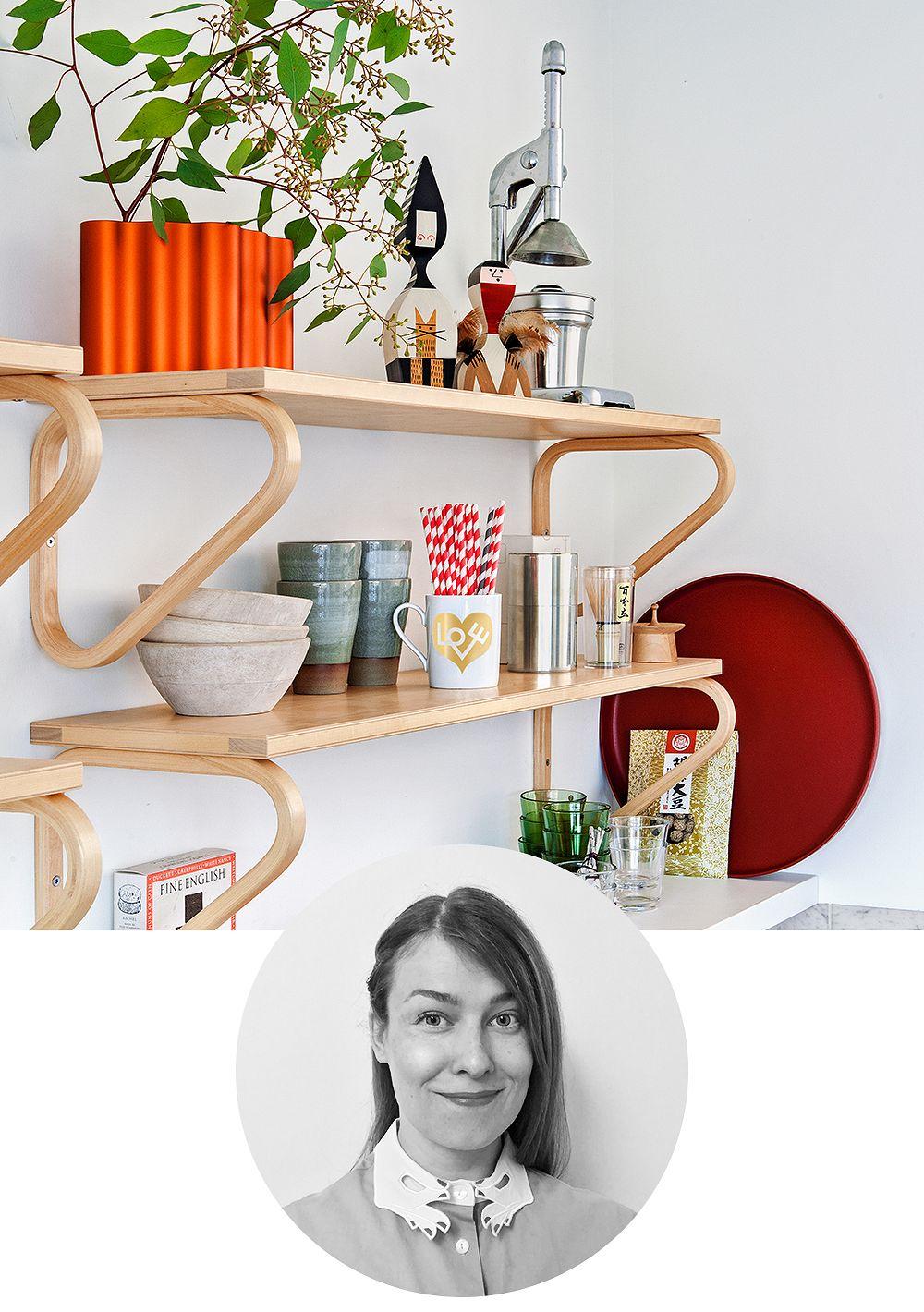 Artek Aalto wall shelf 112B