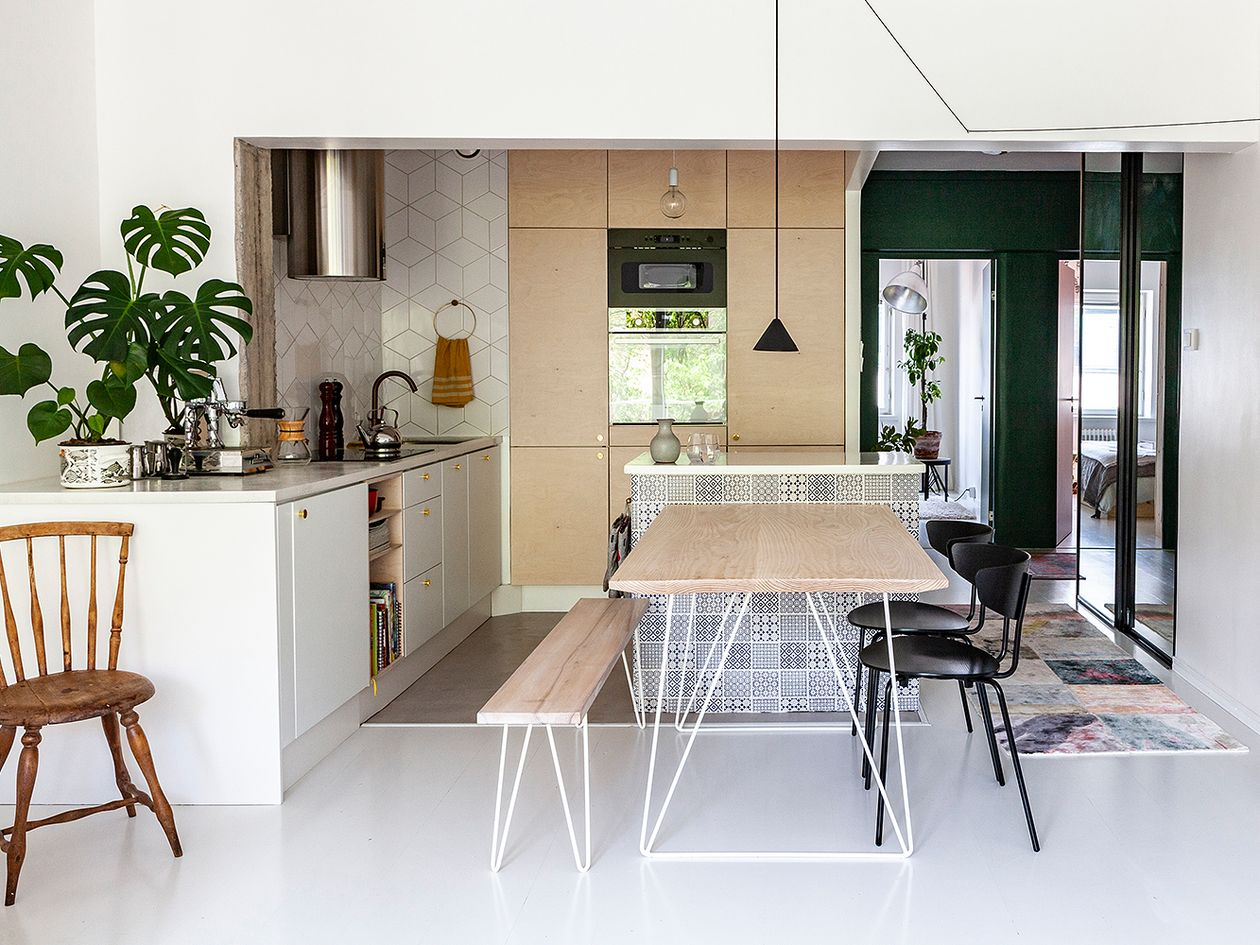 Anni and Heikki renovated a two-bedroom home in Helsinki | Design Stories
