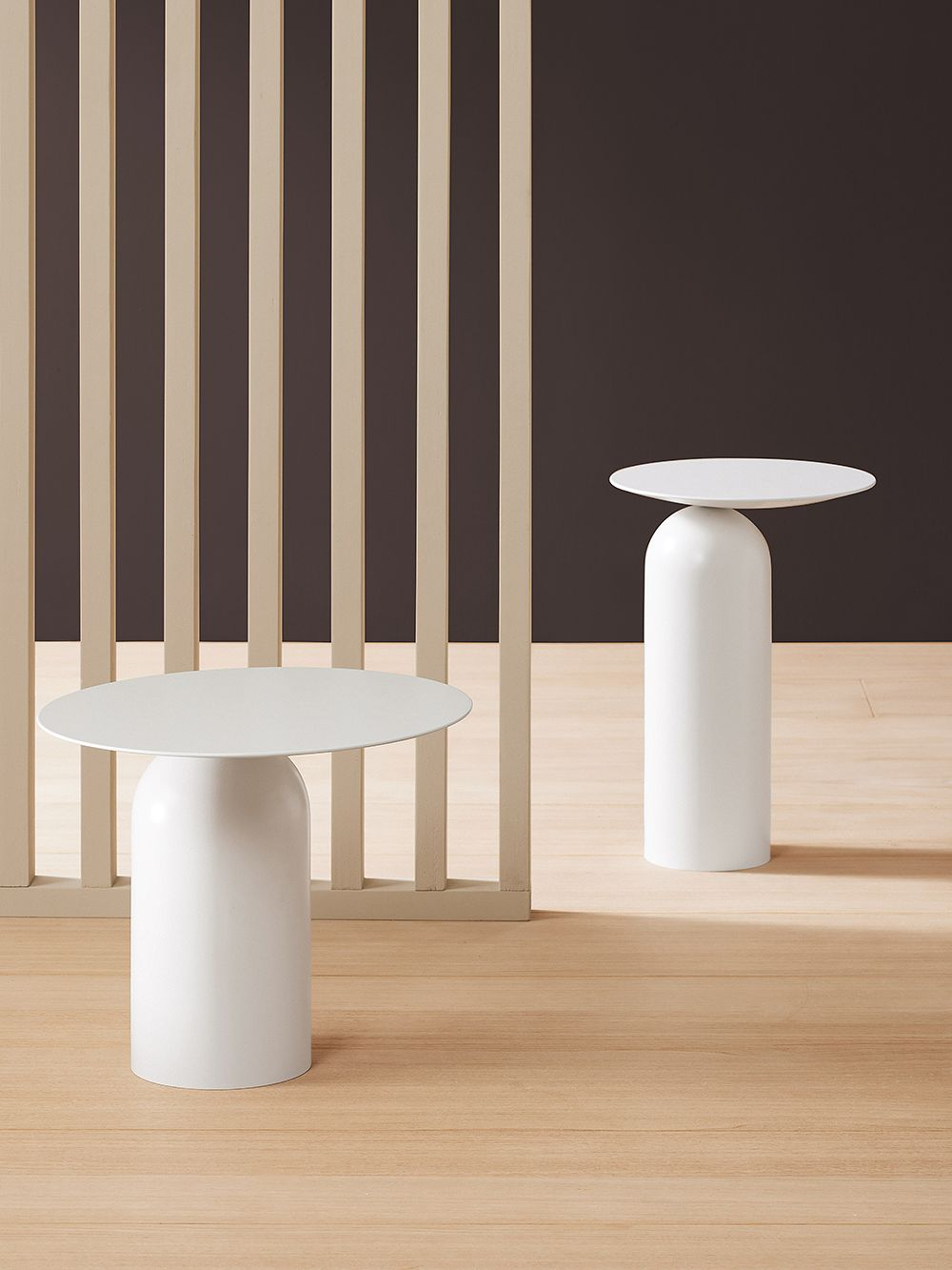 Disco side table by Basta