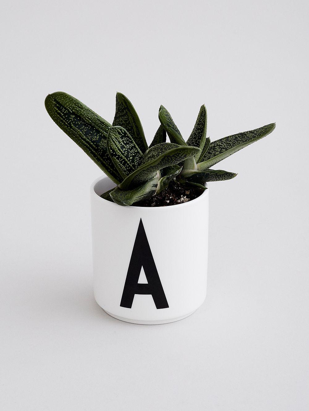 Design Letters AJ porcelain cup