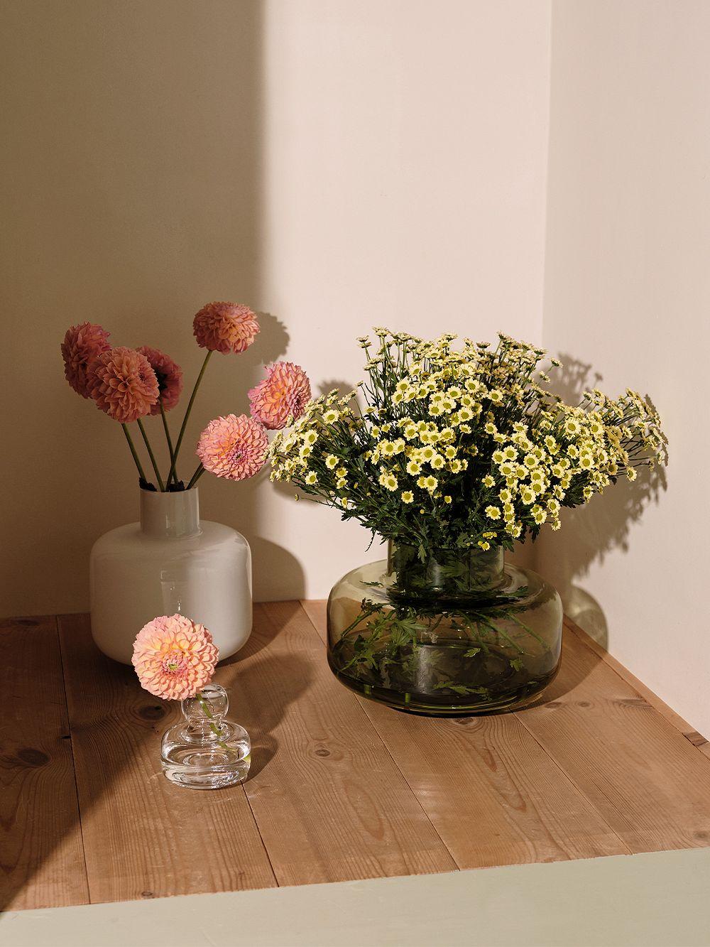 Marimekko Ming vase, white