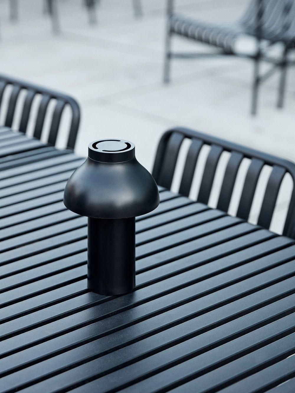 Hay PC Portable table lamp, soft black