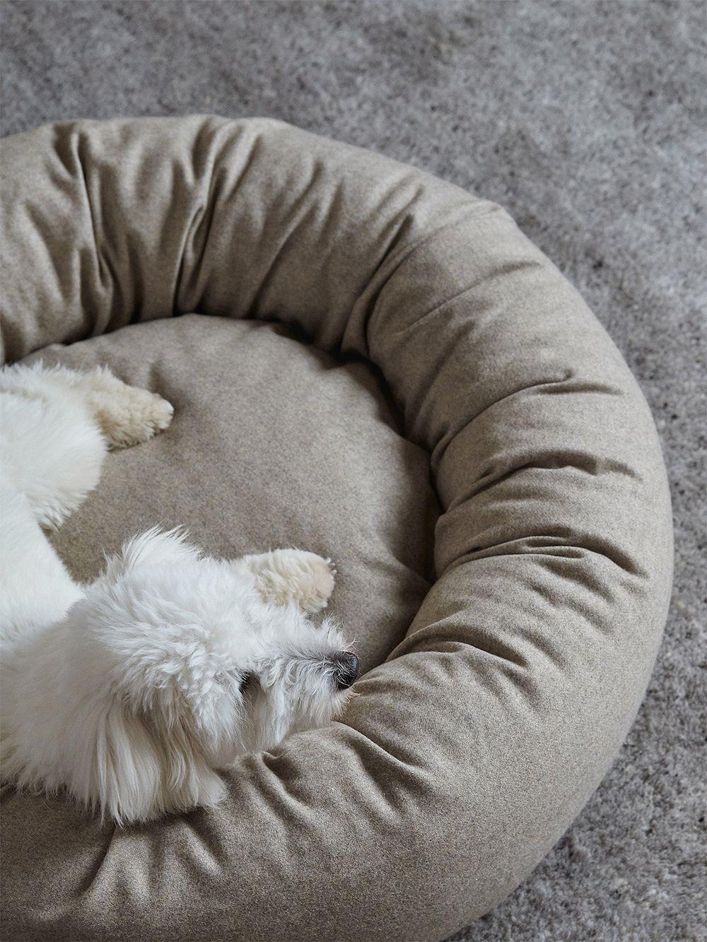 Matri Dog bed, L, ivory melange