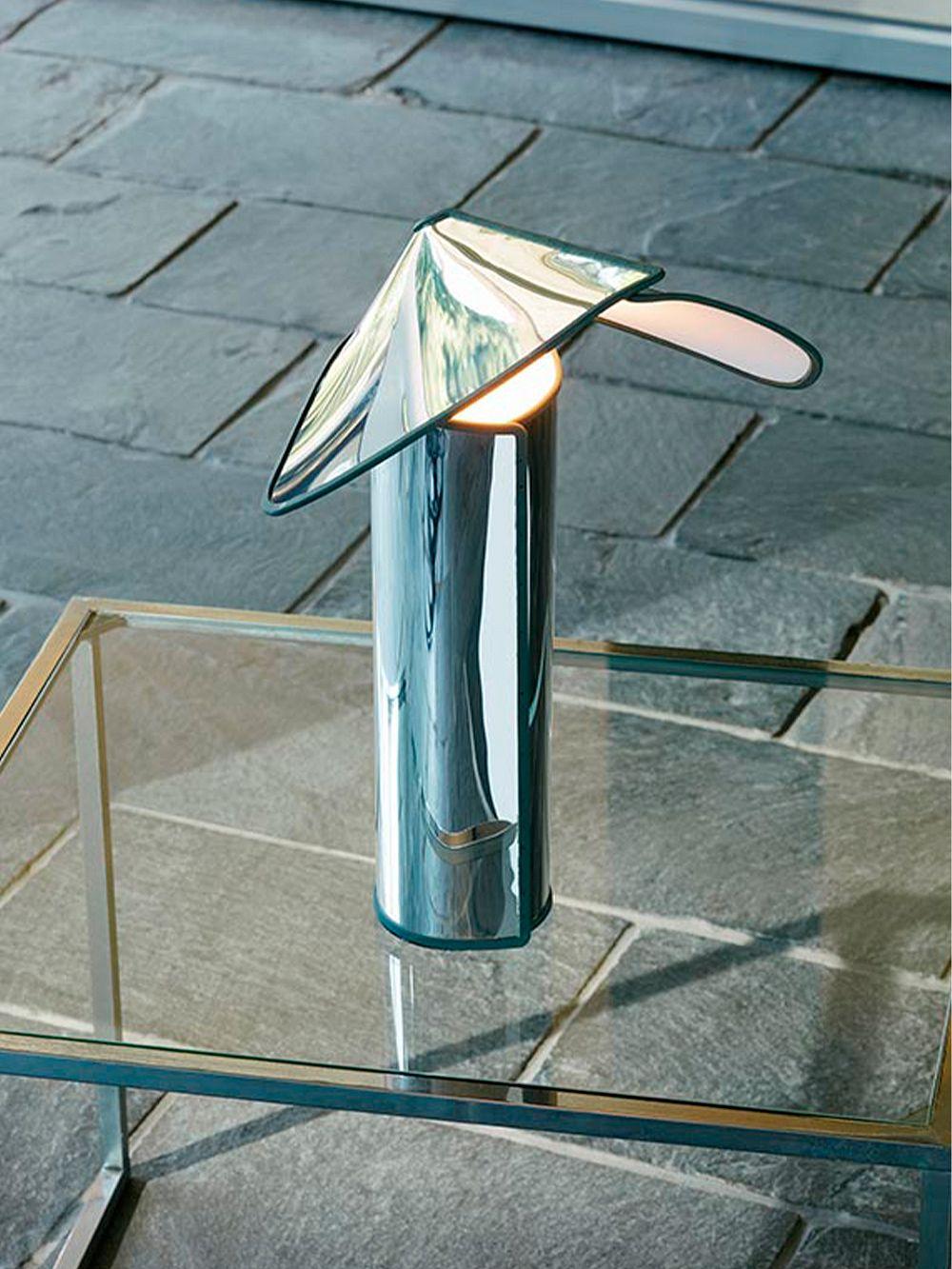 Flos Chiara table lamp, aluminium - anthracite