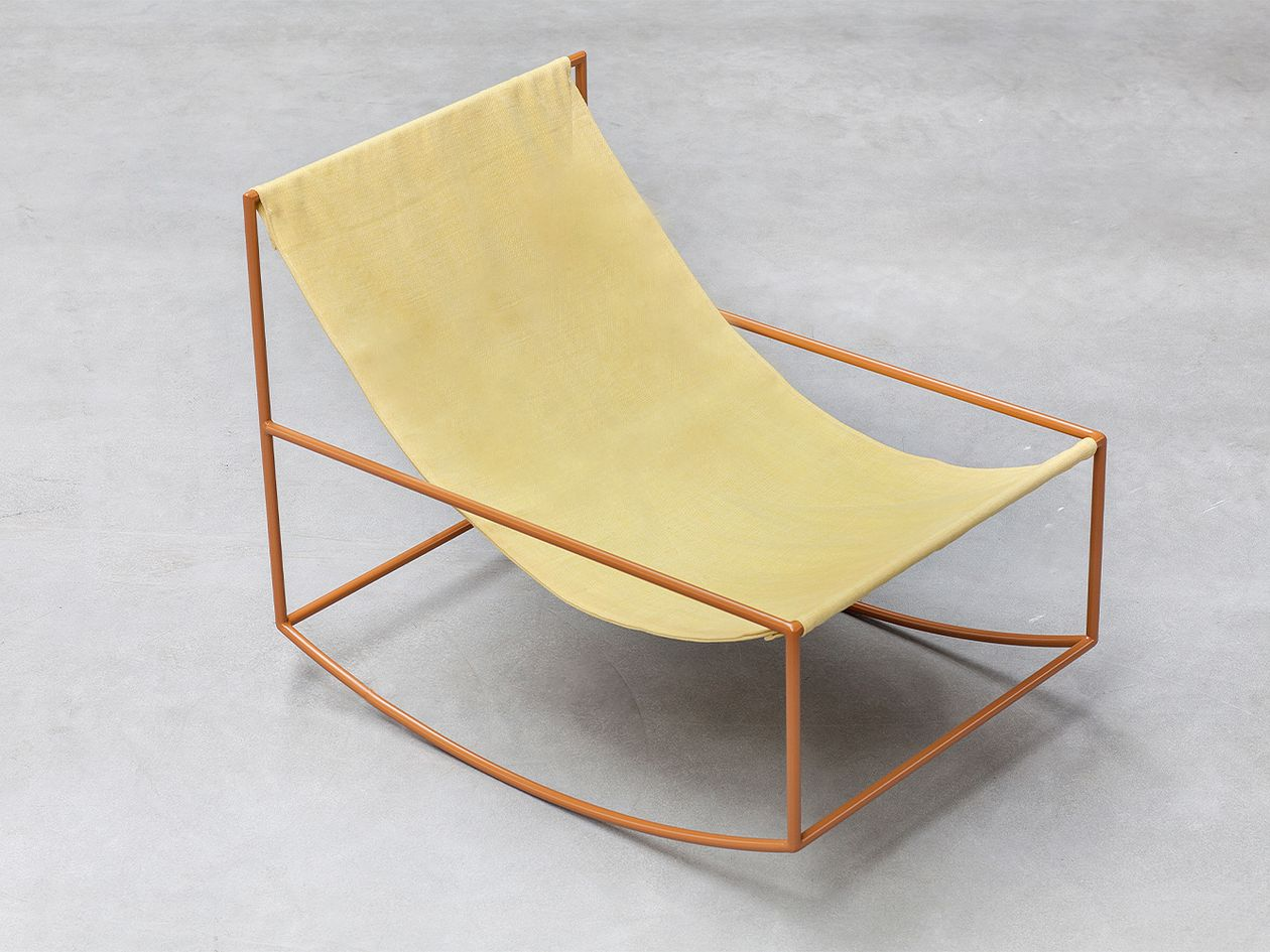 Valerie Objects Rocking Chair, mustard - yellow