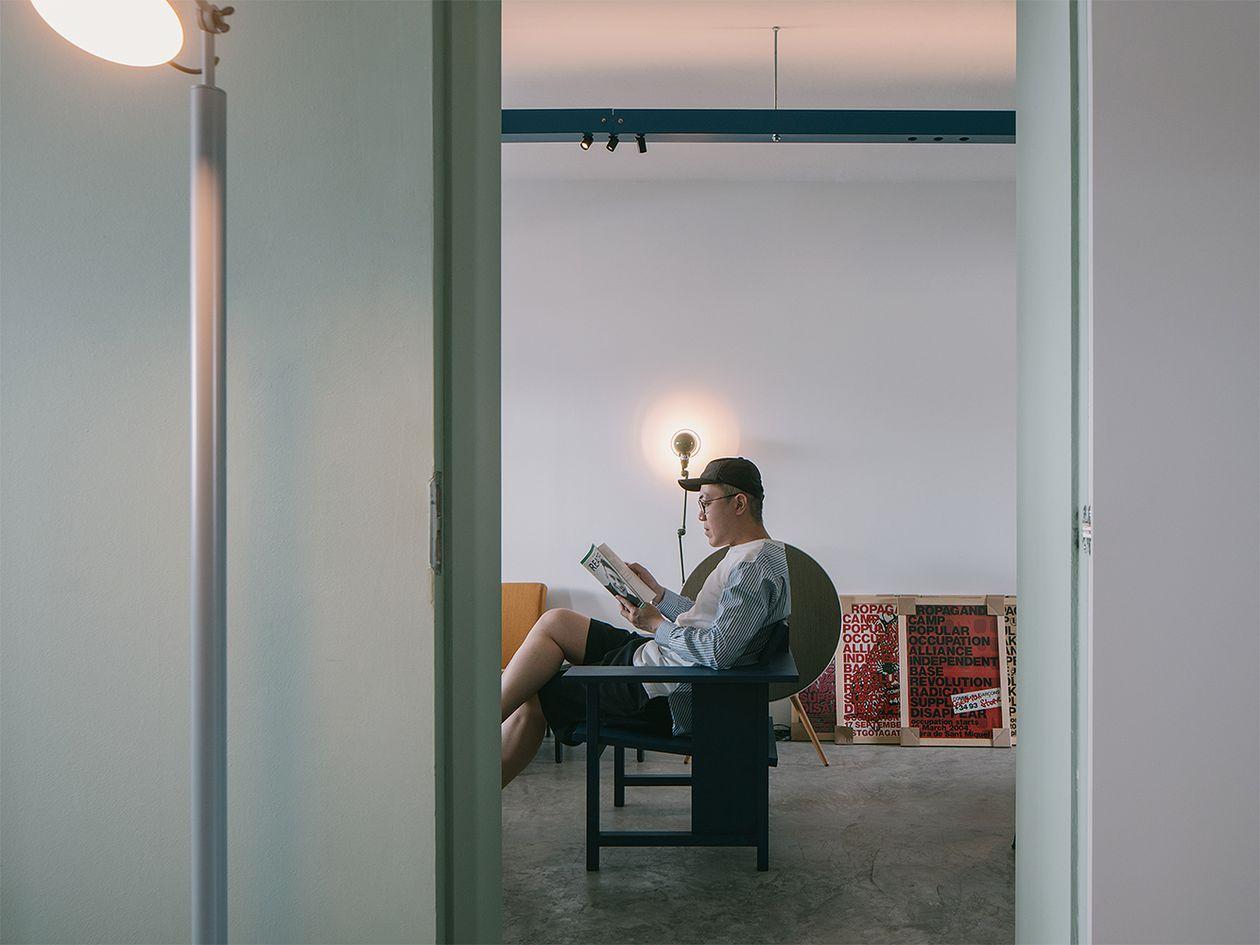 Mattiazzi Clerici lounge chair, ash
