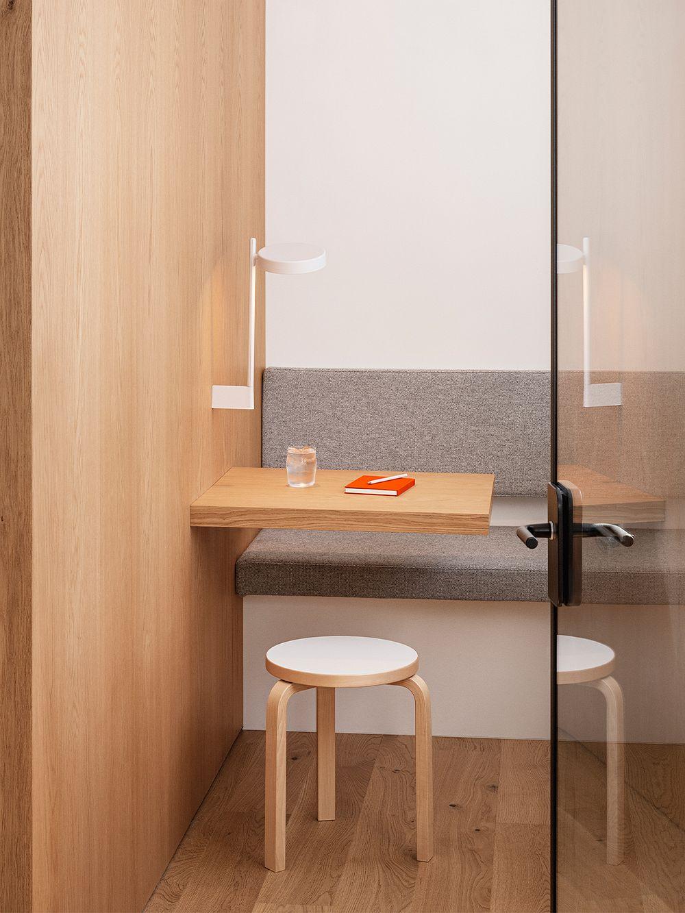Artek Aalto stool 60, white laminate